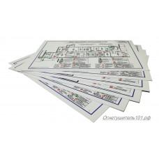 Печать А4 ламинированная пленка с макета Заказчика